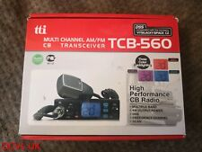 TTI TCB-560 CB RADIO MULTI STANDARD, COMPACT AM / FM