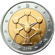 BELGICA 2 EUROS 2006 CONMEMORATIVA ATOMIUM - SIN CIRCULAR