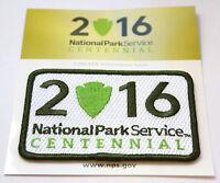 Official National Park Service Centennial Patch 2016 NPS Parks Arrowhead