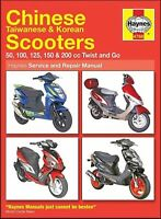 Chinese, Taiwanese, Korean Scooters 50, 100, 125, 150, 200 cc Twist and Go