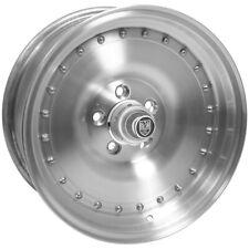 "Centerline Auto Drag 15x8.5 5x4.75"" +3mm Polished Wheel Rim 15"" Inch"