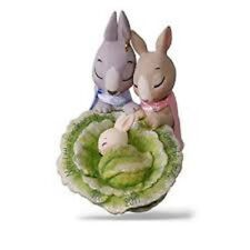 HALLMARK 2017 THE LITTLE SOMEBUNNY NEW PARENTS DATED ORNAMENT FAST FREE SHIP