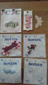 Assortment of Sew on Motifs - Job lot