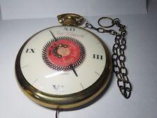 Caryl Richards Pocket Watch Hanging Clock Rotating Spinning Happy Hair Salon