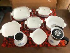 More details for pyrosil corningware cornflower casserole dishes, serving trays, tea, coffee pots