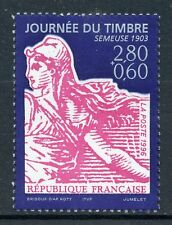 STAMP / TIMBRE FRANCE NEUF N° 2990 ** JOURNEE DU TIMBRE SEMEUSE
