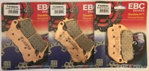 Honda CB1000R (ABS) (2009 to 2016) EBC Sintered FRONT and REAR Disc Brake Pads