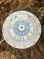 Ovulation Calendar and Pregnancy Wheel; NEW out of package.