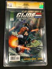 G.I. Joe #3 Image 2001 CGC SS 9.6 Signed by J Scott Campbell