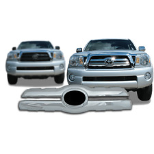 FREE SHIPPING: 2005-2010 Toyota Tacoma Chrome Snap On Grille Overlay #26