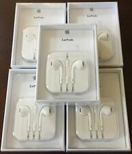 Lot of 5 Genuine OEM New Original Apple EarPods, Earphones for iPhone Sealed!