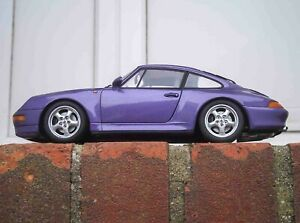 UT Models 1 18 Porsche 911 993 Carrera S 2S Coupe Purple WITH CORRECT BOX