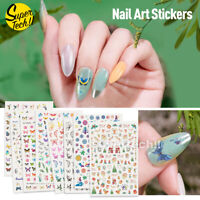 NEW 3D Nail Decor Decal Stickers Nail Art Accessories Butterfly Design AU STOCK