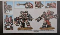 Warhammer 40k Chaos Space Marines Obliterators (2) A + B Shadowspear -NoS-