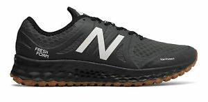 New Balance Men's Kaymin Trail Shoes Black with White