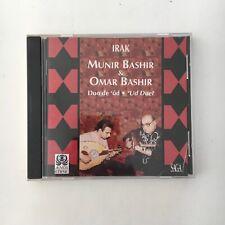 MUNIR BASHIR & OMAR BASHIR ~ UD DUET ~ IRAK ~ IMPORT CD ~ TRADITIONAL