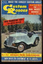 custom rodder magazine vtg May 1958 Custom Grille Chevy How To photos