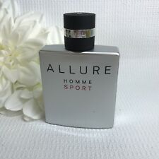 Chanel Allure Homme Sport Eau De Toilette 3.4oz Eau De Toilette Tester Bottle