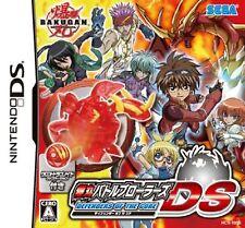 Bakugan DEFENDERS OF THE CORE Nintendo DS with cross dragonoid New F/S Japan