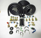 A/C HOSE KIT,GENERAL USE,W/135 DEGREE,O RING FITTINGS/TRINARY SWITCH HOT/RAT ROD
