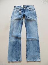 Lee KNOX Jeans Hose, W 32 /L 32, NEU ! Batik washed, Vintage Denim ! Unikat ! 46