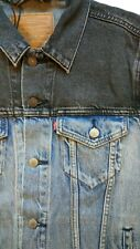 Levis Mens Trucker Denim Jean Jacket Size L