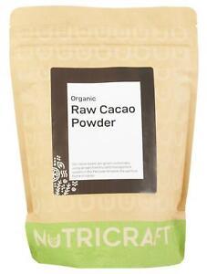 500g organic CACAO / COCOA powder by NUTRICRAFT™ - Raw - Peruvian Criollo