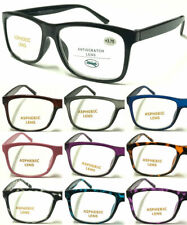 S140 High Quality Big Lens Simple Plain Plastic Reading Glasses/Comfort Designed