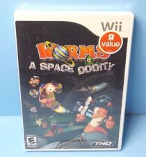 Worms: A Space Oddity Nintendo Wii BRAND NEW FACTORY SEALED
