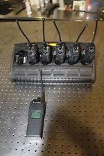 SET OF 6 MOTOROLA XTS1500 RADIOS WITH CHARGER H66UCD9PW5BN