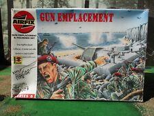AIRFIX  WW2 GERMAN D-DAY  GUN EMPLACEMENT STILL BOXED