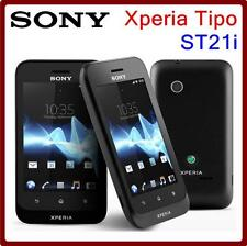 Sony Xperia Tipo ST21i Original mobile phone 3.15MP Camera 3G GPS WIFI Android