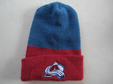 COLORADO AVALANCHE NHL Hockey Ski Winter Hat Beanie Made in USA