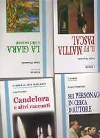 luigi pirandello-stock composto da 4 romanzi - edizioni integrali -La spiga -