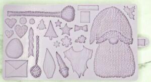"Karen Davies Nordic Gnome Sugarcraft Mould  "" NEW DESIGN "" - FAST DESPATCH"