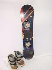 Rossignol SIS Step-in Jr Snowboard Package, LSB Deck, Rossignol Bindings & Boots