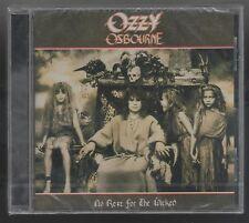 OZZY OSBOURNE NO REST FOR THE WICKED (BLACK SABBATH) CD SIGILLATO!!!
