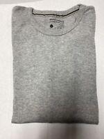 New Perry Ellis Portfolio Light Gray Thermal Shirt Long Sleeve Mens XL MSRP $36