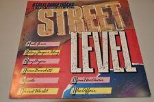 """VA Sampler - Street Level Dance Tracks 12"""" Versionen 80er Vinyl Schallplatte LP"""