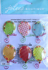 JOLEE'S BOUTIQUE BALLOONS REPEAT Shakers Celebrate Party Scrapbook Craft Sticker