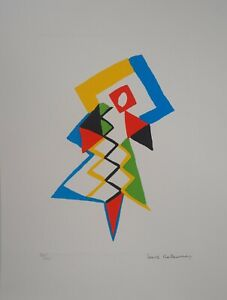 Sonia Delaunay (After) - Jazz - Lithography Signed And Numbered, 600ex