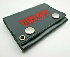 Tiger Army American Psychobilly Wallet Trifold Billfold Leather Made in USA