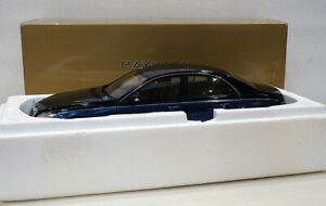 Autoart 1/18 Maybach 57 Two Tone Metallic Blue Dealer Edition B66962157