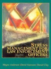 Stress Management For Law Enforcement Officers, Anderson, Wayne, Swenson, David,