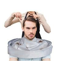 Pro Salon Barber Gown Cloth Hair Cutting Cloak Umbrella Hairdressing Cape CA US