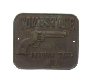 Tombstone Arizona Territory 1881 Gun Butt Tag