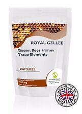 Jalea Real Gellee 150 mg FRESH Bumble Bee Honey Bee leche Nutrition 120 Cápsula