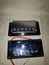 Electric Guitar Humbucker Pickups Set for Guitar Replacement Chrome