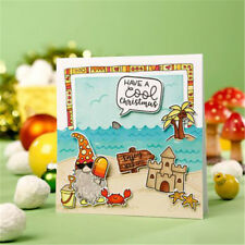 Happy Xmas theme Santa Claus clear stamps scrapbooking album card decor craft KI