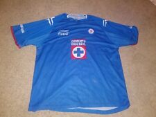 Cruz Azul Soccer Jersey Coca-Cola Vintage Good Condition XL Used